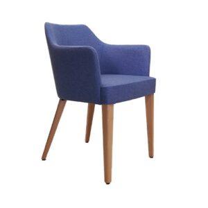 Model 886 armchair in modern style