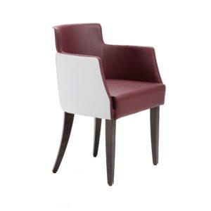 Model 836 armchair in modern style