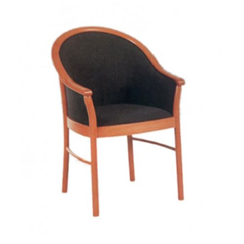 Model 1408 T imb armchair in style